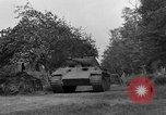 Image of Ground  view Mark V tank  Saint Lo France, 1944, second 38 stock footage video 65675041539