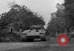 Image of Ground  view Mark V tank  Saint Lo France, 1944, second 39 stock footage video 65675041539