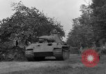 Image of Ground  view Mark V tank  Saint Lo France, 1944, second 40 stock footage video 65675041539