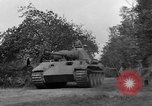 Image of Ground  view Mark V tank  Saint Lo France, 1944, second 41 stock footage video 65675041539