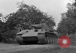 Image of Ground  view Mark V tank  Saint Lo France, 1944, second 42 stock footage video 65675041539
