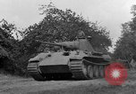 Image of Ground  view Mark V tank  Saint Lo France, 1944, second 43 stock footage video 65675041539