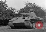 Image of Ground  view Mark V tank  Saint Lo France, 1944, second 45 stock footage video 65675041539