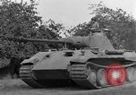Image of Ground  view Mark V tank  Saint Lo France, 1944, second 46 stock footage video 65675041539