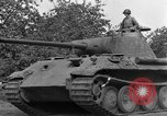 Image of Ground  view Mark V tank  Saint Lo France, 1944, second 48 stock footage video 65675041539