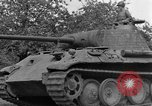 Image of Ground  view Mark V tank  Saint Lo France, 1944, second 49 stock footage video 65675041539