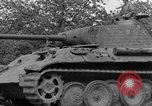 Image of Ground  view Mark V tank  Saint Lo France, 1944, second 50 stock footage video 65675041539