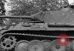 Image of Ground  view Mark V tank  Saint Lo France, 1944, second 51 stock footage video 65675041539