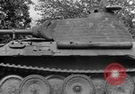 Image of Ground  view Mark V tank  Saint Lo France, 1944, second 52 stock footage video 65675041539