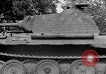 Image of Ground  view Mark V tank  Saint Lo France, 1944, second 53 stock footage video 65675041539
