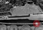 Image of Ground  view Mark V tank  Saint Lo France, 1944, second 55 stock footage video 65675041539