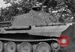 Image of Ground  view Mark V tank  Saint Lo France, 1944, second 57 stock footage video 65675041539