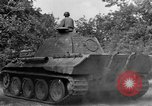Image of Ground  view Mark V tank  Saint Lo France, 1944, second 60 stock footage video 65675041539