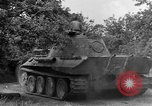 Image of Ground  view Mark V tank  Saint Lo France, 1944, second 61 stock footage video 65675041539