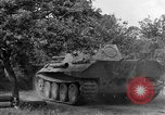 Image of Ground  view Mark V tank  Saint Lo France, 1944, second 62 stock footage video 65675041539
