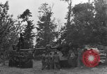 Image of German Mark V tank captured by Americans Saint Lo France, 1944, second 9 stock footage video 65675041541