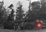 Image of German Mark V tank captured by Americans Saint Lo France, 1944, second 15 stock footage video 65675041541