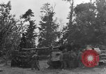 Image of German Mark V tank captured by Americans Saint Lo France, 1944, second 16 stock footage video 65675041541