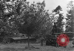 Image of German Mark V tank captured by Americans Saint Lo France, 1944, second 19 stock footage video 65675041541