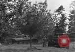 Image of German Mark V tank captured by Americans Saint Lo France, 1944, second 20 stock footage video 65675041541