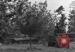 Image of German Mark V tank captured by Americans Saint Lo France, 1944, second 23 stock footage video 65675041541