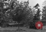 Image of German Mark V tank captured by Americans Saint Lo France, 1944, second 24 stock footage video 65675041541