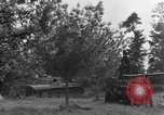 Image of German Mark V tank captured by Americans Saint Lo France, 1944, second 25 stock footage video 65675041541