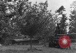 Image of German Mark V tank captured by Americans Saint Lo France, 1944, second 27 stock footage video 65675041541