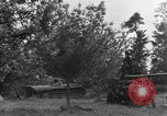 Image of German Mark V tank captured by Americans Saint Lo France, 1944, second 28 stock footage video 65675041541