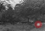 Image of German Mark V tank captured by Americans Saint Lo France, 1944, second 31 stock footage video 65675041541
