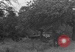 Image of German Mark V tank captured by Americans Saint Lo France, 1944, second 32 stock footage video 65675041541