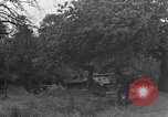 Image of German Mark V tank captured by Americans Saint Lo France, 1944, second 33 stock footage video 65675041541