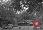 Image of German Mark V tank captured by Americans Saint Lo France, 1944, second 35 stock footage video 65675041541