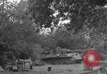 Image of German Mark V tank captured by Americans Saint Lo France, 1944, second 36 stock footage video 65675041541