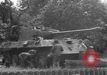 Image of German Mark V tank captured by Americans Saint Lo France, 1944, second 45 stock footage video 65675041541