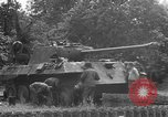 Image of German Mark V tank captured by Americans Saint Lo France, 1944, second 48 stock footage video 65675041541