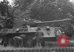 Image of German Mark V tank captured by Americans Saint Lo France, 1944, second 50 stock footage video 65675041541