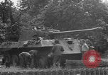 Image of German Mark V tank captured by Americans Saint Lo France, 1944, second 51 stock footage video 65675041541