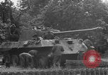 Image of German Mark V tank captured by Americans Saint Lo France, 1944, second 52 stock footage video 65675041541