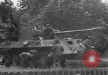 Image of German Mark V tank captured by Americans Saint Lo France, 1944, second 54 stock footage video 65675041541
