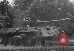 Image of German Mark V tank captured by Americans Saint Lo France, 1944, second 56 stock footage video 65675041541