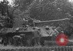 Image of German Mark V tank captured by Americans Saint Lo France, 1944, second 57 stock footage video 65675041541