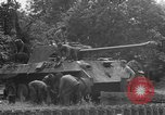 Image of German Mark V tank captured by Americans Saint Lo France, 1944, second 62 stock footage video 65675041541