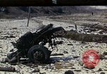 Image of Destroyed Army convoy Hoengsong Korea, 1951, second 1 stock footage video 65675041573