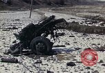 Image of Destroyed Army convoy Hoengsong Korea, 1951, second 2 stock footage video 65675041573
