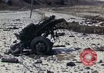 Image of Destroyed Army convoy Hoengsong Korea, 1951, second 3 stock footage video 65675041573