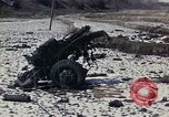 Image of Destroyed Army convoy Hoengsong Korea, 1951, second 4 stock footage video 65675041573