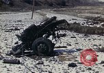 Image of Destroyed Army convoy Hoengsong Korea, 1951, second 5 stock footage video 65675041573