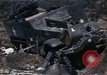 Image of Destroyed Army convoy Hoengsong Korea, 1951, second 25 stock footage video 65675041573