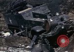 Image of Destroyed Army convoy Hoengsong Korea, 1951, second 26 stock footage video 65675041573